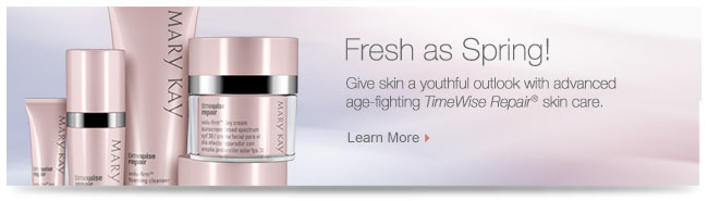 Fresh as Spring! Give skin a youthful outlook with advanced age-fighting TimeWise Repair® skin care. Learn More.