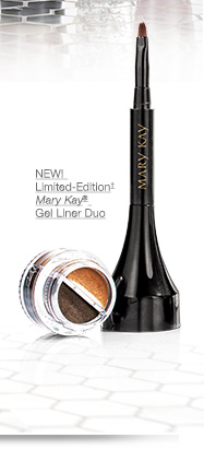 NEW! Limited-Edition† Mary Kay® Gel Liner Duo