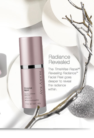 Radiance Revealed.             The TimeWise Repair® Revealing Radiance™ Facial Peel goes deeper to reveal the radiance within.