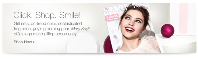 Click.Shop.Smile. Gift sets, on-trend color, sophisticated fragrance, guy's grooming gear. Mary Kay® eCatalogs make gifting soooo easy! Shop Now.