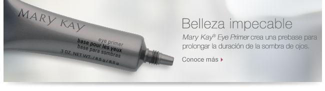 Belleza impecable | Mary Kay® Eye Primer crea una prebase para prolongar la duración de la sombra de ojos. Conoce más