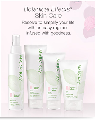 Botanical Effects® Skin Care |             Resolve to simplify your life with an easy regimen infused with goodness.
