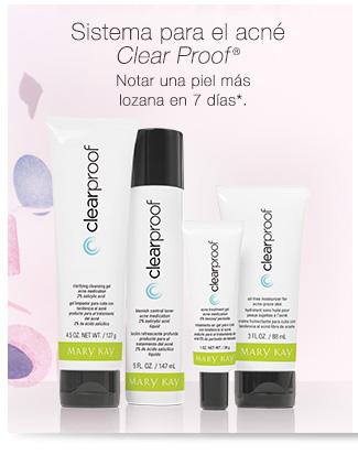 Sistema para el acné <i>Clear Proof</i>® | Notar una piel más lozana en 7 días*.