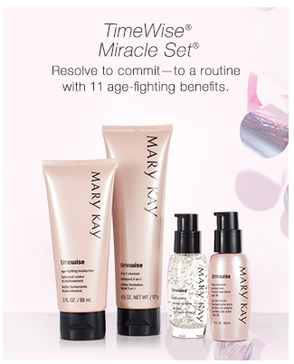 TimeWise® Miracle Set® |             Resolve to commit—to a routine with 11 age-fighting benefits.