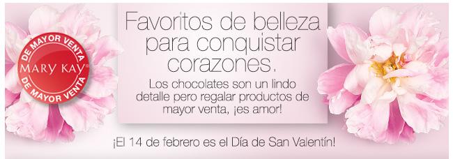 Favoritos de belleza para conquistar corazones. Los chocolates son un lindo detalle pero regalar productos de mayor venta, ¡eso es amor! ¡El 14 de febrero es el Día de San Valentín!