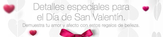 Detalles especiales para San Valentín. Demuestra tu amor y afecto con estos regalos de belleza.