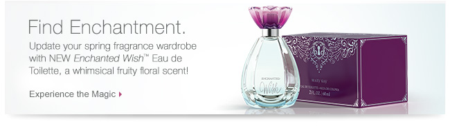 Find Enchantment. Update your spring fragrance wardrobe with NEW Enchanted Wish™ Eau de Toilette, a whimsical fruity floral scent! Experience the Magic.