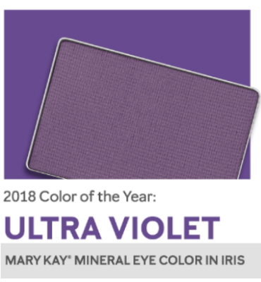 Ultraviolet in your makeup bag as the Pantone Color of the Year