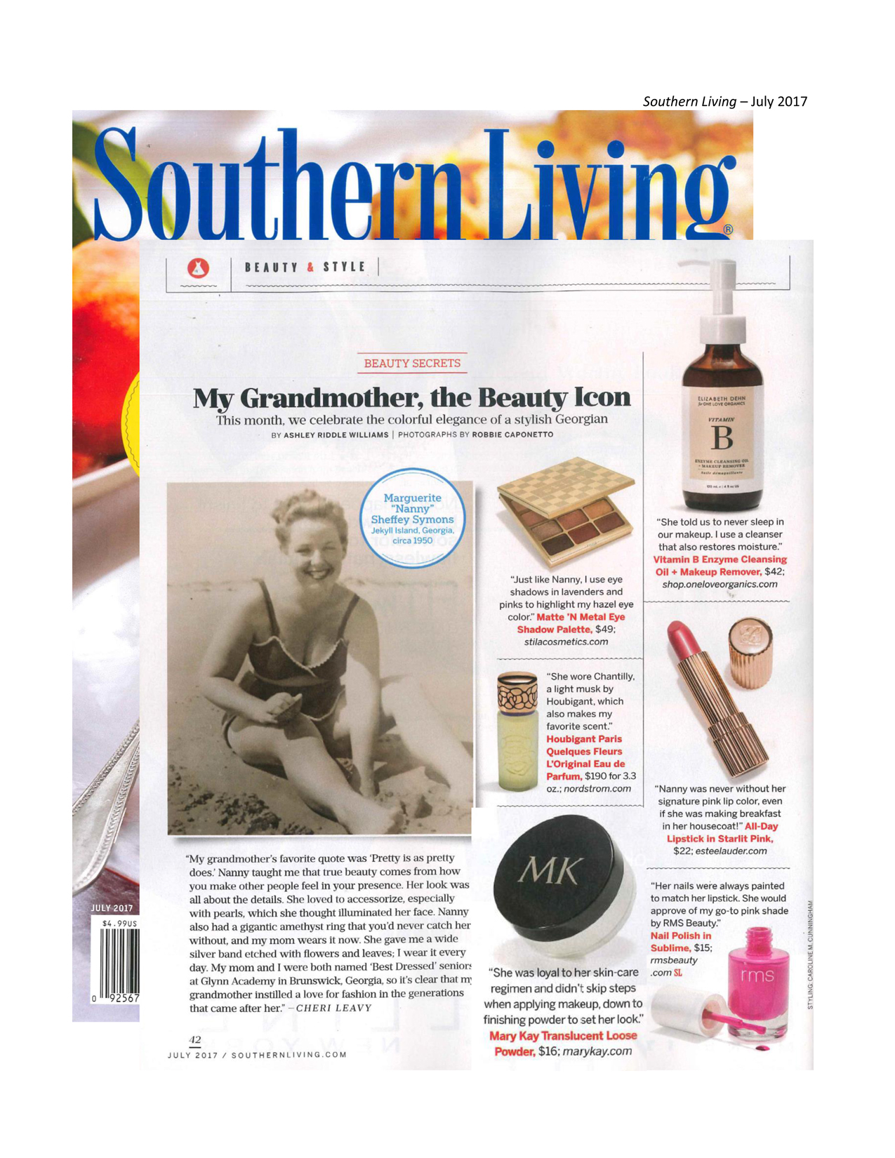 Southern living july 2017 Southern living change of address