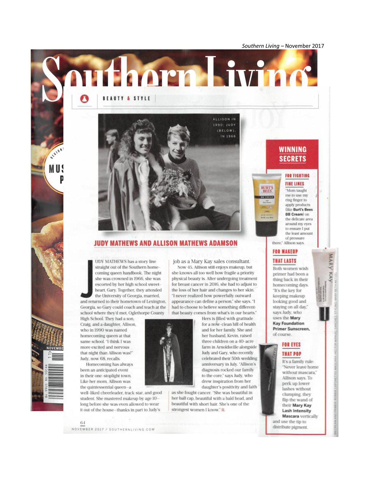 Southern living november 2017 for Southern living change of address