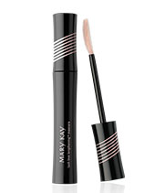 Lash Love Lengthening Mascara from Mary Kay strengthens, fortifies and conditions lashes too. Get it here.