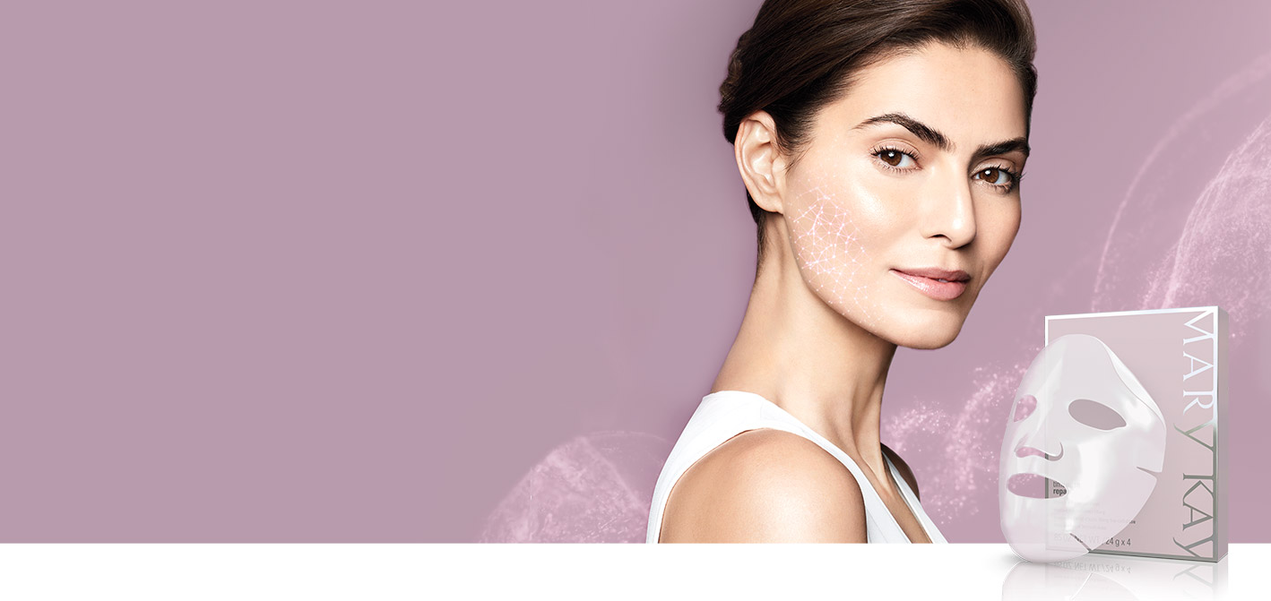 Learn more about the NEW TimeWise Repair Lifting Bio-Cellulose Mask from Mary Kay and how you can see a visible lift in just two weeks.