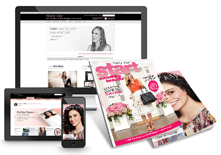 Learn more about Mary Kay in the media.