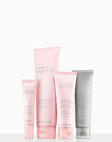 Mary Kay® TimeWise® Miracle Set 3D™ products .