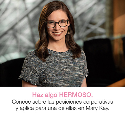A Mary Kay employee.
