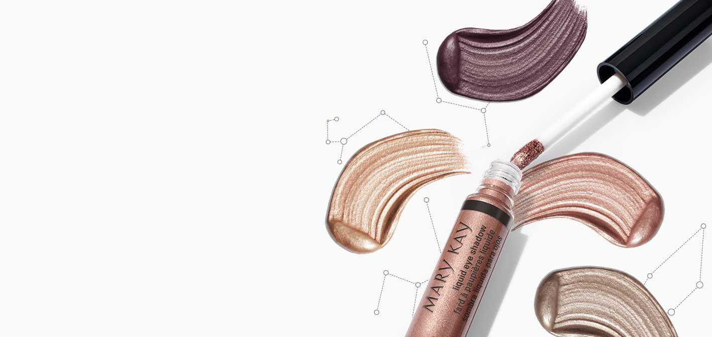 Muestras de Mary Kay® Liquid Eye Shadow.