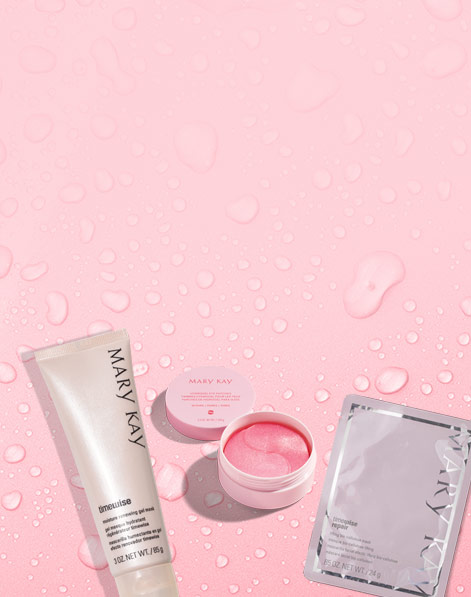 Mary Kay® products that can contribute to skin hydration
