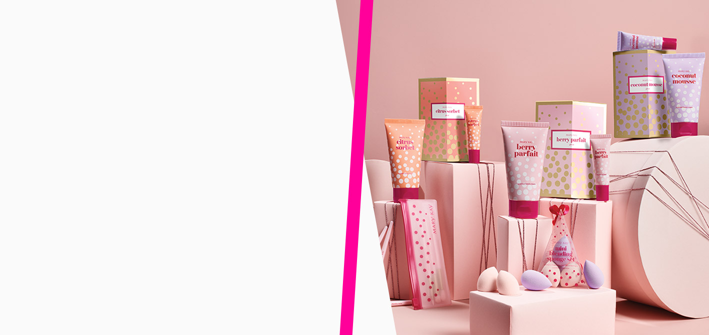 All gifts included in the limited-edition Mary Kay® Darling DeliAll gifts included in the limited-edition Mary Kay® Darling Delights Collection styled with gifting accessories ghts Collection styled with gifting accessories