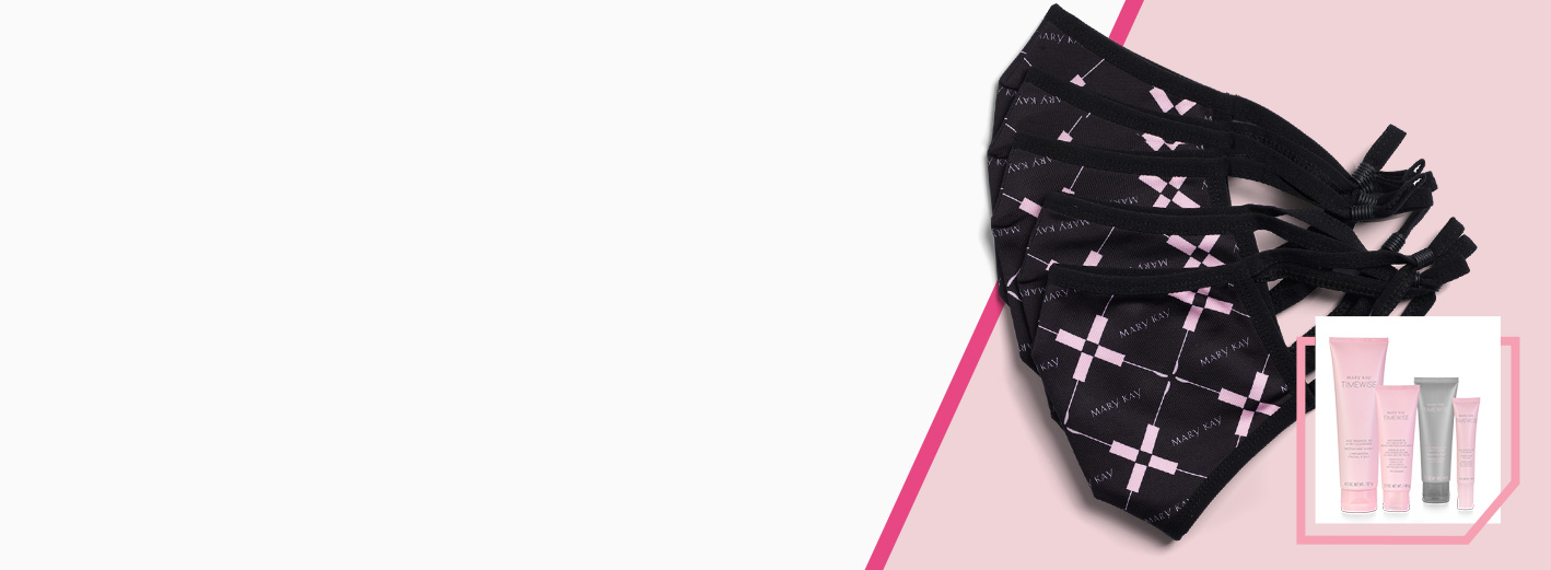 Regalo con compra: Mary Kay® Cloth Face Masks