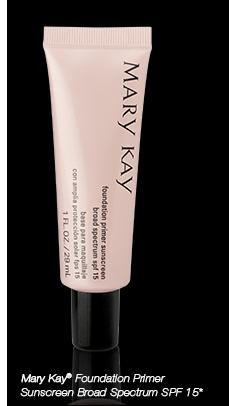 <i>Mary Kay</i>® <i>Foundation Primer Sunscreen Broad Spectrum SPF 15</i>*