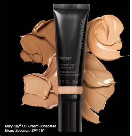 <i>Mary Kay® CC Cream Sunscreen Broad Spectrum SPF 15*</i>