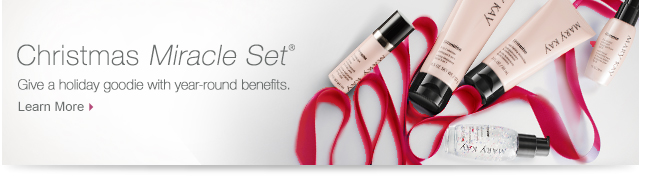 Christmas Miracle Set®. Give a holiday goodie with year-round benefits. Learn More.