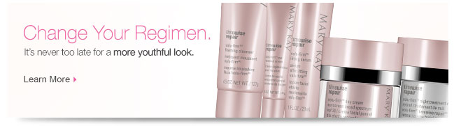Change Your Regimen. It's never too late for a more youthful look. Learn More.