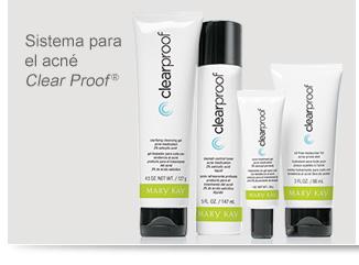 Sistema para el acné Clear Proof®
