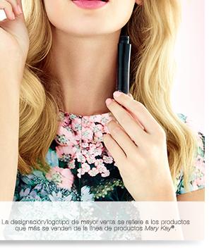 La designación/logotipo de mayor venta se refiere a los productos que más se venden de la línea de productos Mary Kay®