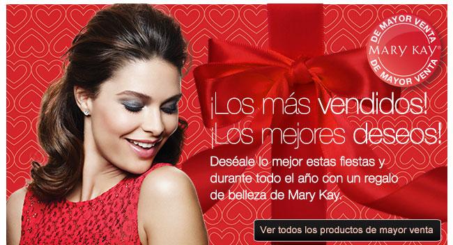 ¡Los más vendidos! ¡Los mejores deseos! Deséale lo mejor estas fiestas y durante todo el año con un regalo de belleza de Mary Kay. Ver todos los productos de mayor venta