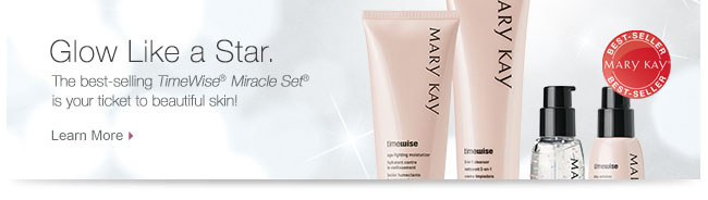 Glow Like a Star.             The best-selling TimeWise® Miracle Set®             is your ticket to beautiful skin!             Learn More