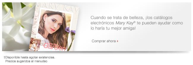 Cuando se trata de belleza, ¡los catálogos electrónicos Mary Kay® te pueden ayudar como lo haría tu mejor amiga! Comprar ahora †Disponible hasta agotar existencias. Precios sugeridos al menudeo