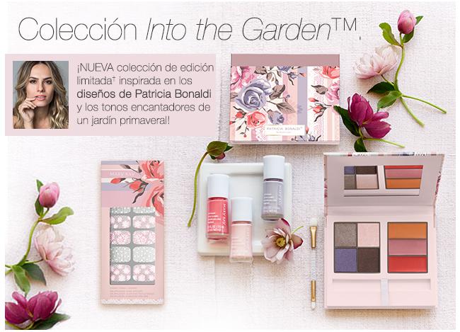 Colección <i>Into the Garden</i>™. ¡NUEVA colección de edición limitada† inspirada en los diseños de Patricia Bonaldi y los tonos encantadores de un jardín primaveral!