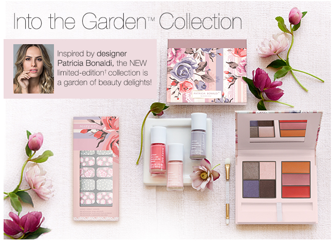 Into the Garden™ Collection. Inspired by designer Patricia Bonaldi, the NEW limited-edition† collection is a graden of beauty delights!