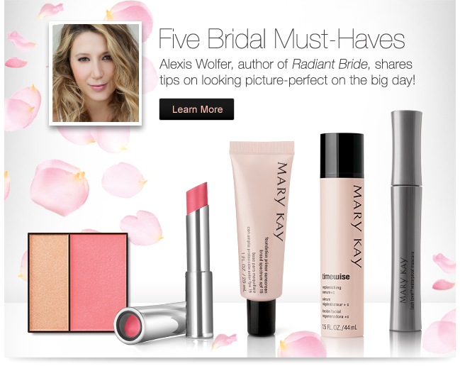 Five Bridal Must-Haves. Alexis Wolfer author of Radiant Bride, shares tips on looking picture-perfect on the big day! Learn More