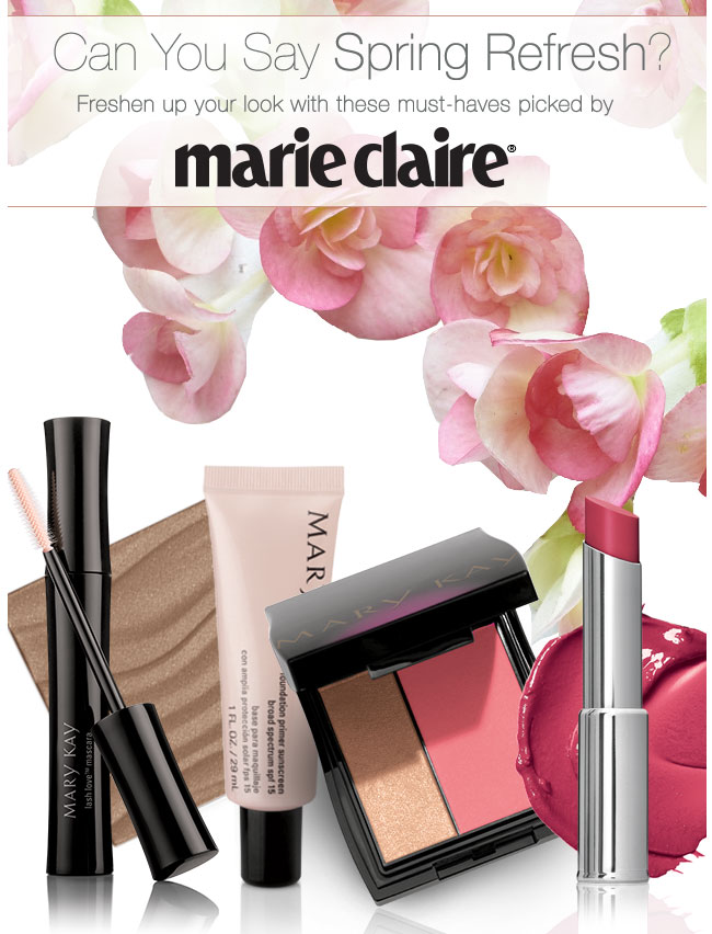 Can You Say Spring Refresh? Freshen up your look with these must-haves picked by marie claire