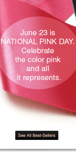 June 23 is National Pink Day. Celebrate the color pink and all it represents.