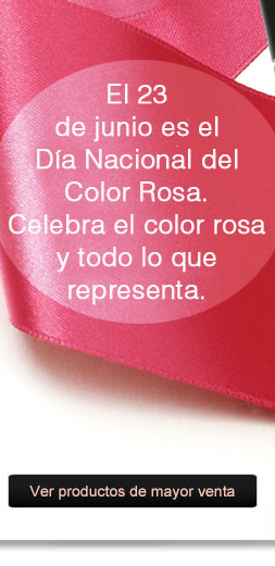 El 23 de junio es el Día Nacional del Color Rosa. Celebra el color rosa y todo lo que representa. Ver todos los productos de mayor venta