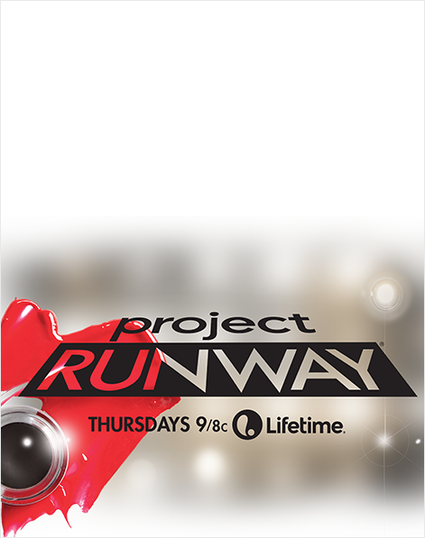 Project Runway Vertical Ad